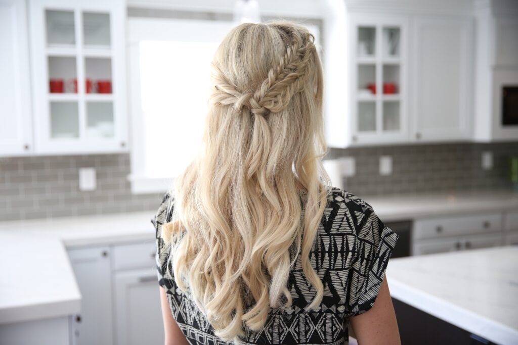 Half Up Side Braid | Cute Girls Hairstyles