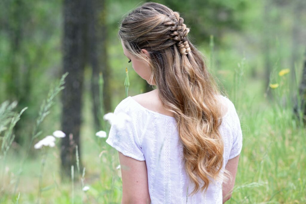 Floating Infinity Braid | Cute Girls Hairstyles