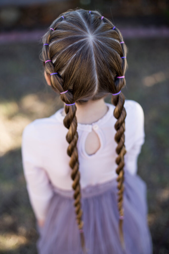 Banded Twist Braid | Cute Girls Hairstyles