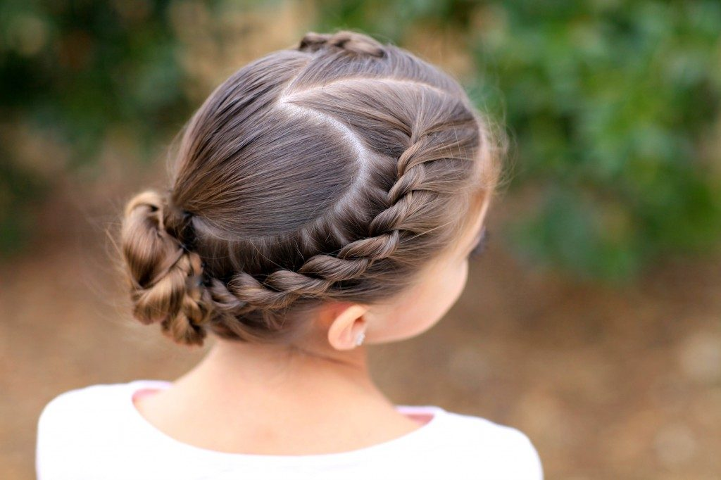 Rope Twisted Heart   Cute Girls Hairstyles