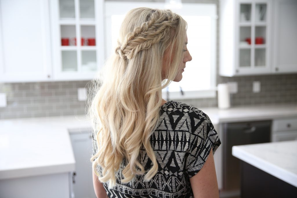 Half Up Side Braid | Cute Girls Hairstyles