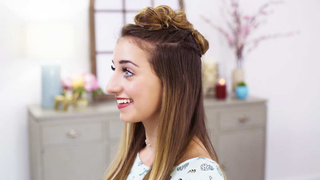 Triple Top Knot | Cute Girls Hairstyles