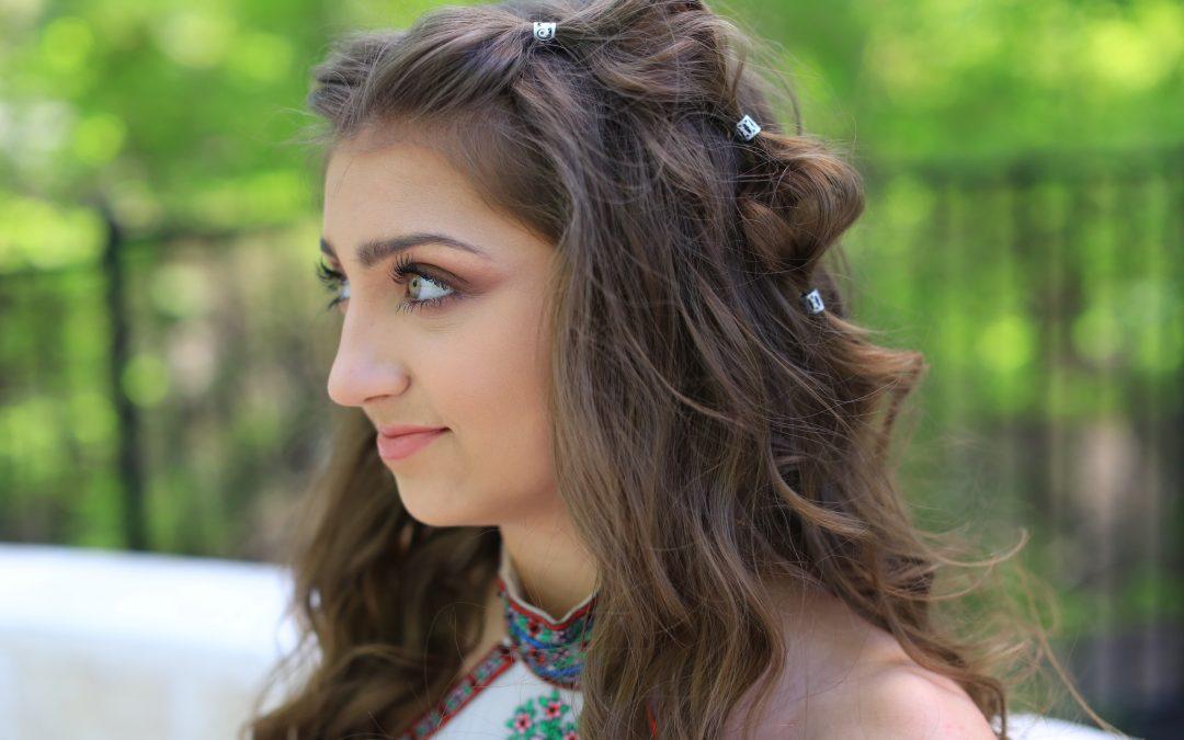 Kamri's Prom Hair | Boho Bubble Braid