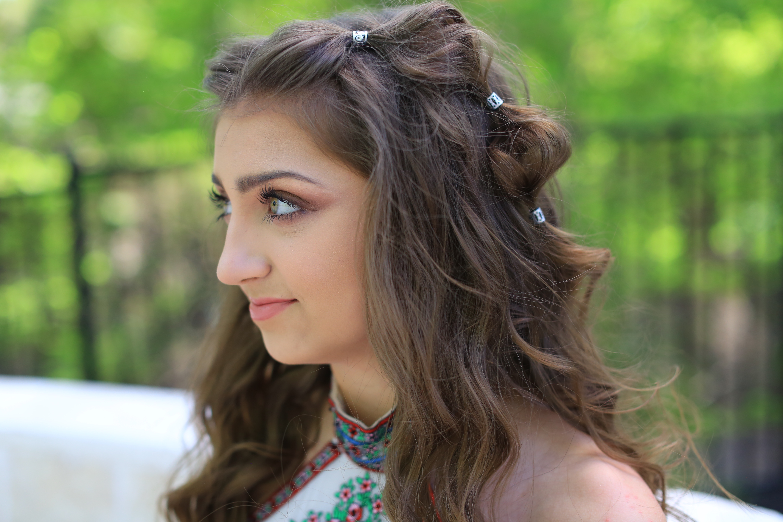 Kamri S Prom Hair Boho Bubble Braid Cute Girls Hairstyles
