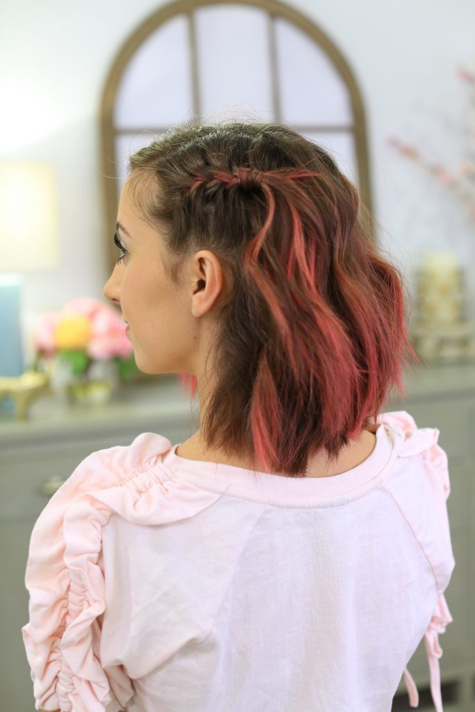 Side Pull Back   Cute Girls Hairstyles