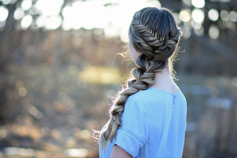 Side Pull Thru Braid Combo | Cute Girls Hairstyles