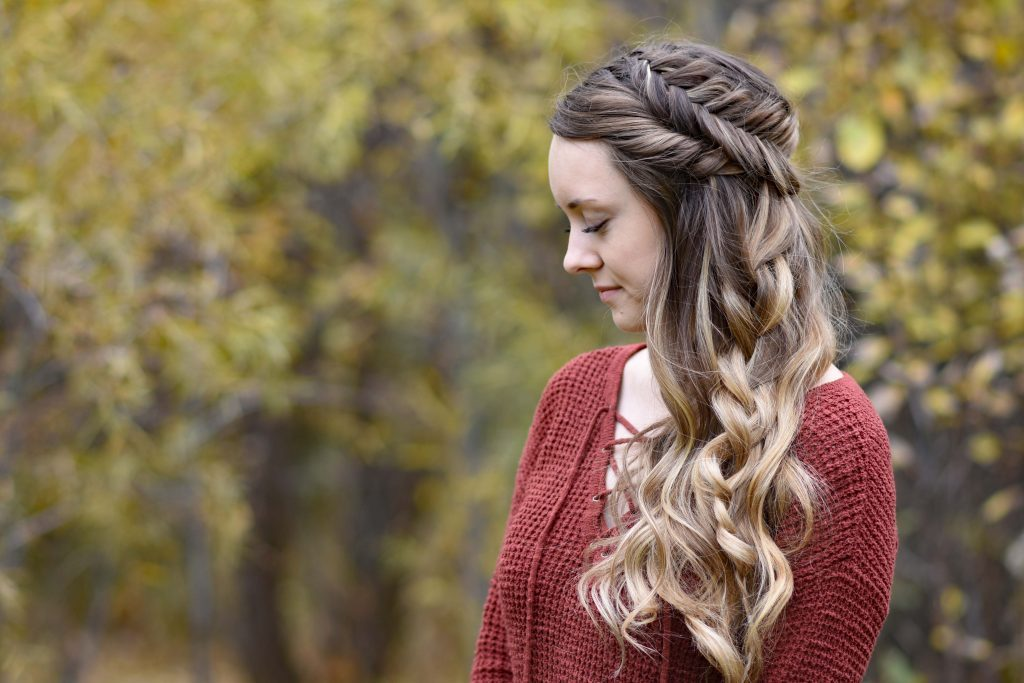 Side Swept Fishtail | Cute Girls Hairstyles