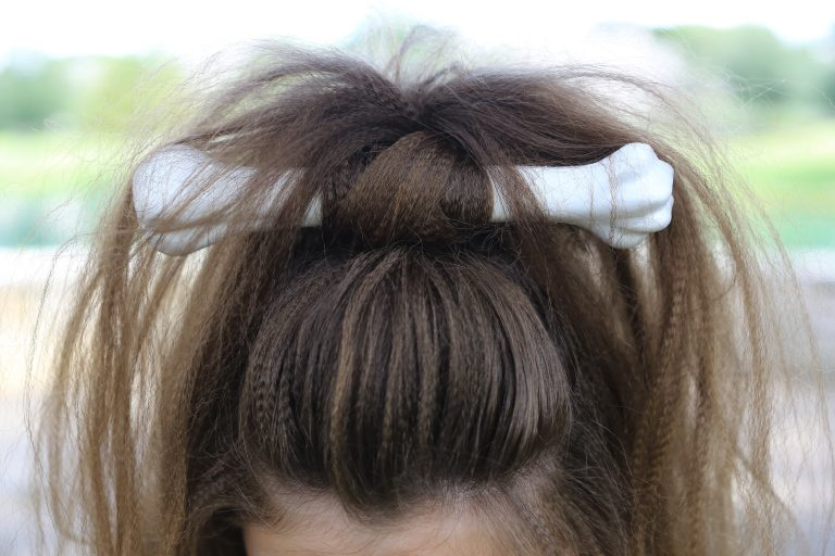 Cave Woman Half-Up   Cute Girls Hairstyles