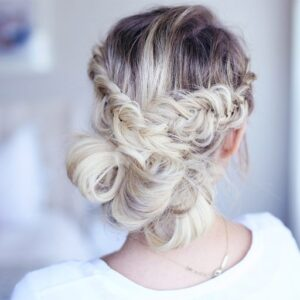 Fancy Fishtail Updo | Cute Girls Hairstyles