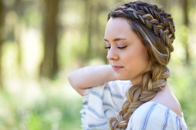 Double Dutch Side Braid | Cute Girls Hairstyles