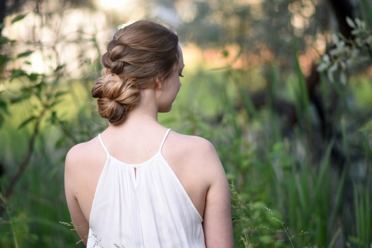 Knotted Braid Updo | Cute Girls Hairstyles