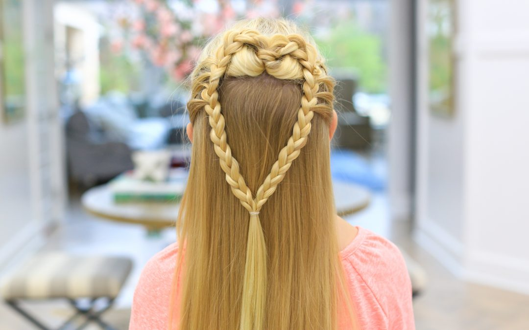 Mermaid Heart Braid | Valentine's Day Hairstyle