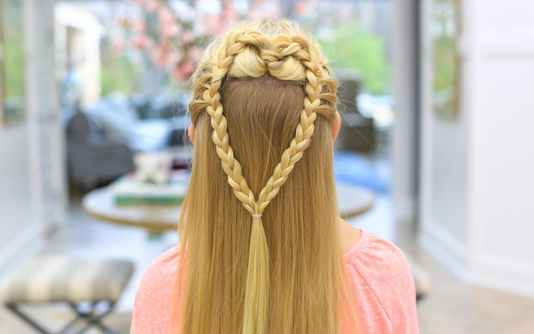 Mermaid Heart Braid | Valentine's Day Hairstyle