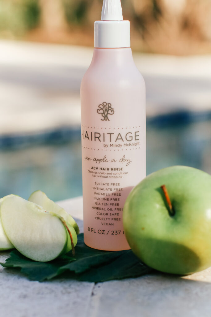 Hairitage By Mindy Mcknight, Apple Cider Vinegar Hair Rinse Hair product, An Apple a day, 8 fl oz