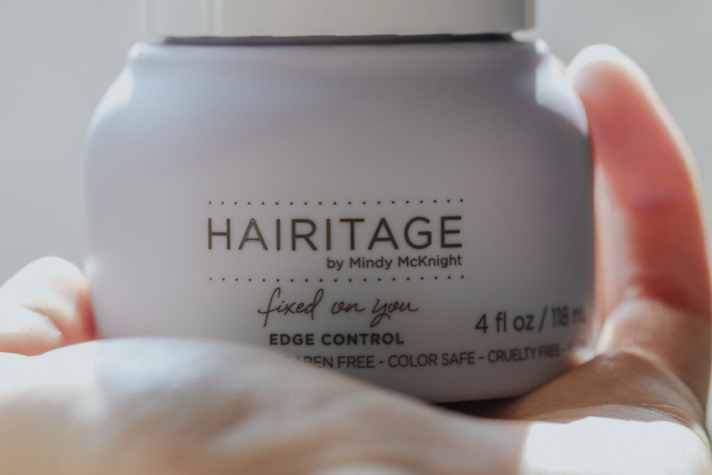 Hairitage By Mindy Mcknight, Edge Control hair product, Fixed On You, 4 fl oz