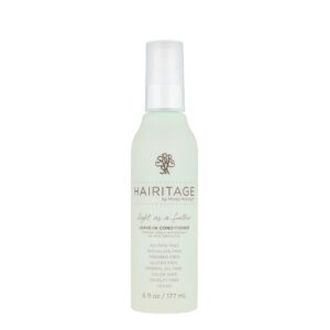 Hairitage By Mindy Mcknight, Leave-In Conditioner, Light As a Feather, 6 fl oz