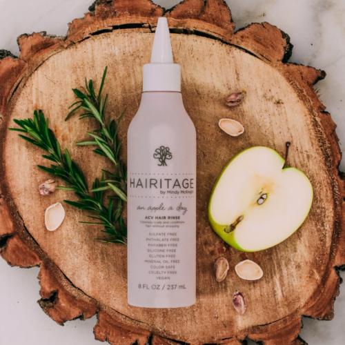 Hairitage By Mindy Mcknight, Apple Cider Vinegar Hair Rinse Hair product, An Apple a day, 8 fl oz