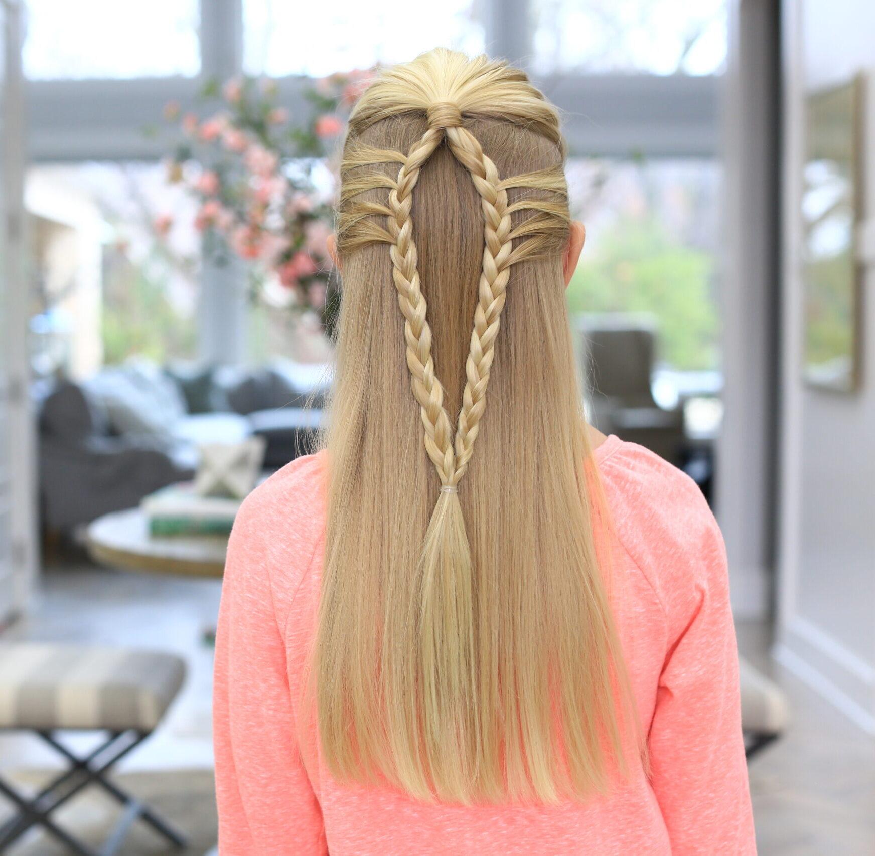 Mermaid Loop Braid | Easy Braided Hairstyles - Cute Girls
