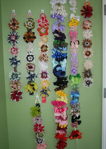 A Flower/Bow Wall