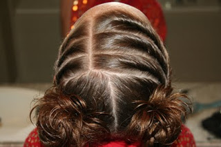 Hairstyle Video: Triple Twists into Twisty Buns