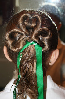 Three-Leaf Clover Twists | St. Patrick's Day Hairstyles