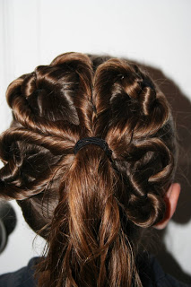 Four-Leaf Clover | St. Patrick's Day Hairstyles